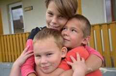 Children grow up with their brothers and sisters (photo: M.Mägi).