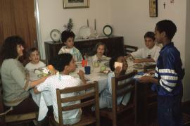 Having dinner - photo: T. Stankiewicz