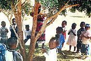 Kindergarten children singing and dancing (Photo: SOS Children's Village Malawi Archives)