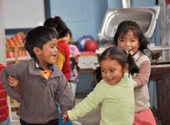 A safe environment where children can be children (photo: F. Espinoza)