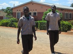 Walking home from school in Llivingstone (photo: SOS archives).