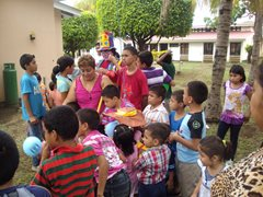 Celebrating together SOS Children's Village Managua (photo: SOS archives)
