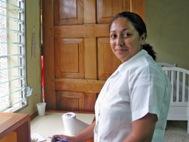 Zobeyda at SOS Social Centre Estelí (Photo: Sergio Beer)
