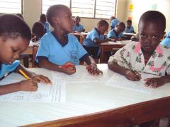 At the SOS Kindergarten - photo: C. F. Ngo Biyack