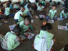 Children at the SOS Children's Villages Kindergarten (photo: SOS archives).