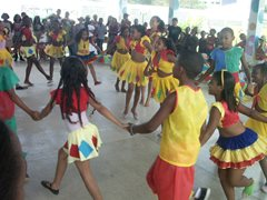 Dancing together in the SOS Children's Village (photo: SOS archive)