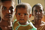 In need of help: mother and child in Sri Lanka - Photo: Dominic Sansoni