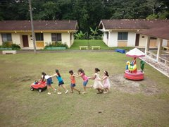 Children in our care grow up with their brothers and sisters in a secure environment (photo: S. Cesar).