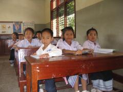 At school - photo: S. Molitor