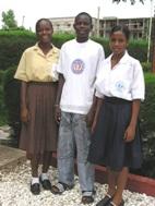 Tina, Kitabu and Fatou delighted (Photo:  T. Kudadjie)