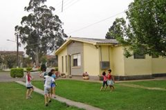 Games in the children's village garden (photo: SOS archives)