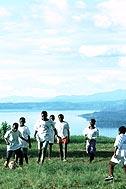The idyllic scene at the SOS Children's Village Bukavu is deceptive - Photo: C. Sattlberger