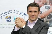 Andriy Shevchenko, Ukraine's new 'FIFA for SOS Children's Villages' ambassador - Photo: V. Pobedenskiy