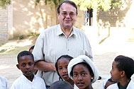 Michael Gschliesser in Bahir Dar, Ethiopia, in May this year - Photo: R. Pichler