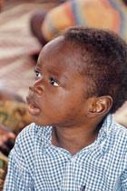 Little child who lives at SOS Children's Village Dafra - Photo: H. Osswald