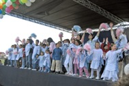 Children from SOS Children's Village Skopje performing at the official opening - Photo: K. Ilievska