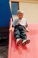 First test for the playground - Photo: K. Ilievska