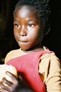 Aids orphan from Lusaka, Zambia, supported by SOS Children's Villages - Photo: B. Strandell