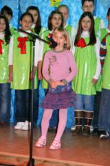 Children from SOS Children's Village Kraljevo performing at the opening ceremony - Photo: K. Ilievska