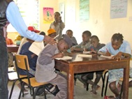 A literacy class at SOS Social Centre Nairobi (Photo: Hilary Atkins)