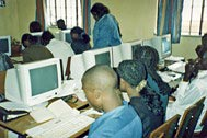 Computer science students - Photo: SOS Archives