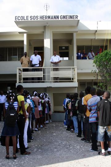 SOS School reopens in Haiti - SOS Children's Villages