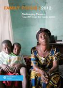 Family Focus 2012 - An in-depth report showing what can be done to make life better for families in 2013