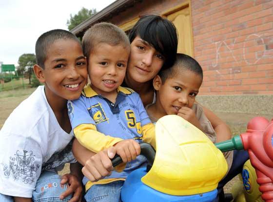 Having a good time at SOS Children's Village Ríonegro (photo: B. Mair)