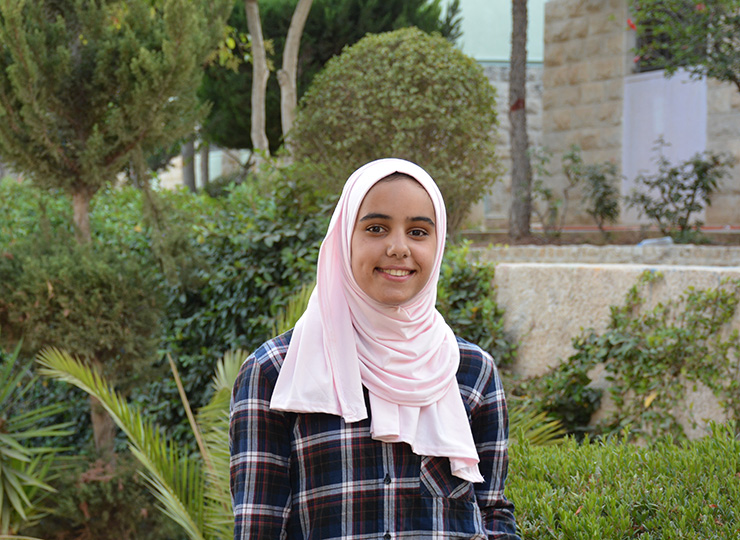 Haneen. Photo: SOS Children