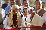 Cutting the ribbon - Photo: SOS Children's Villages India