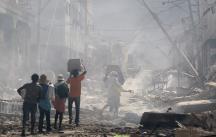 Severe aftershock in Haiti - Photo: www.alertnet.org
