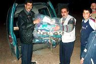 Distribution of blankets in Morocco - Photo: SOS Archives