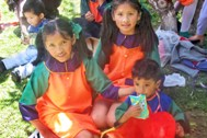 Children from SOS Children's Village Sucre at a local children's carnival (Photo: SOS Archives)