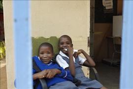 Waiting for school, Family Strengthening Programme Tlokweng - photo: Michela Morosini