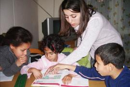 Speech therapy in SOS Children's Village Draria - photo: S. Houalet