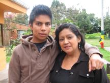 Mauricio together with Rubi, his SOS mother (Photo: SOS Archives)
