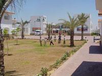 Relative safety on the SOS-Children's Village's premisses - Photo: K. El-Shami