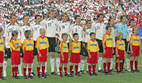 At the opening match Germany - Costa Rica - Photo: GES-Sportfoto