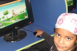 Interactive learning achieving results at s SOS Child-minding Centre in Peru© SOS Archives
