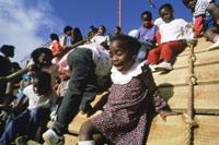 Children from the SOS Children's Village in Maputo - Photo: G. Ulutuncok