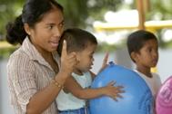 SOS mother from Iloilo, Philippines - Photo: K. Snozzi