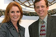 Sarah Ferguson and Executive Director Christopher Zappia - Photo: T. Purdy