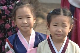 Two girls at SOS Children's Village Daegu - photo: A. Gabriel