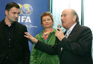 Chapuisat, Leimgruber and Blatter - Photo: SOS Archives