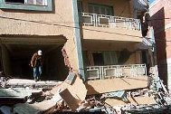 Destroyed houses after the earthquake in Imzouren, Morocco - Photo: SOS Archives