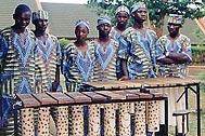 The SOS youth marimba band - Photo: J. Telling