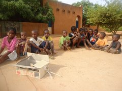 Children without parental care can find a loving home in SOS Children's Village Niamey (photo: SOS archives).