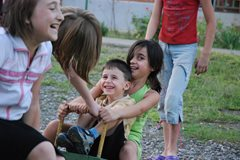 Increasing confidence through play (photo: K. Ilievska)