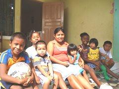 An SOS family from Colón (photo: I. Molinar)