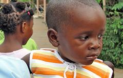 Child from SOS Children's Village Maputo - Photo: SOS Archives